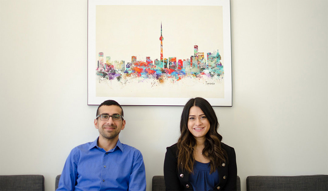 Dr. Deepak Malkani and Dr. Shannon Fernandez, Harbourfront Eye Care Owners